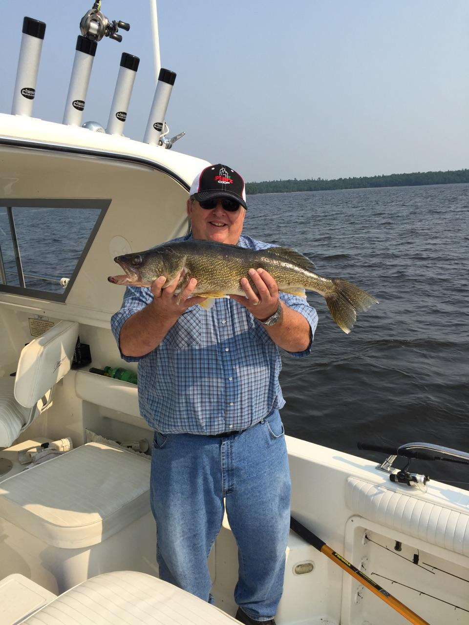 28 14 inch walleye caught on the Minnesota side - guided by Ronnie.jpg