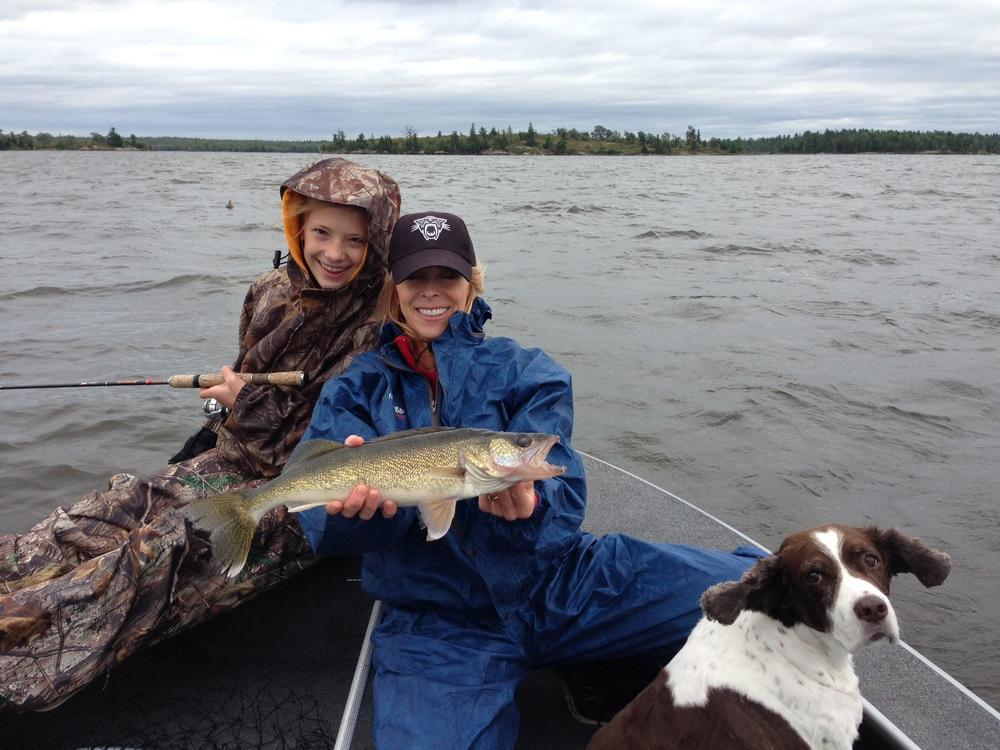 My fish is the smallest within my family, but what an excellent weekend at Sunset Lodge with Dan Schmidt!.jpg
