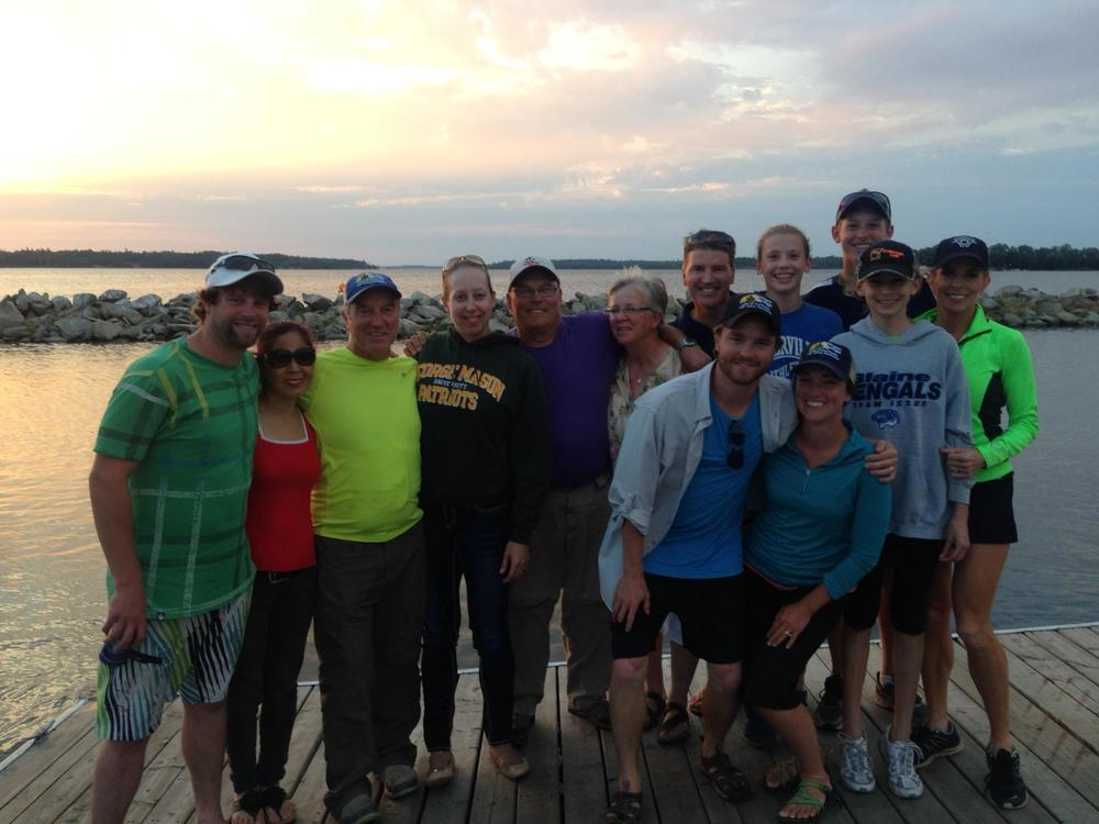 At Sunset Lodge with the Schmidt Family. Great time with fishing with family! - Linda Schmidt.jpg
