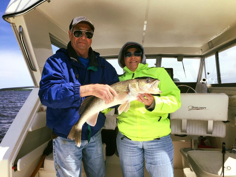 Great fishing with some great people this week and it's only Wednesday!!! With the first 30 inch walleye of the year be caught with a great couple today! - Charter fishing out of Sunset Lodge with guide, Jeremy Glessing  (65).jpg