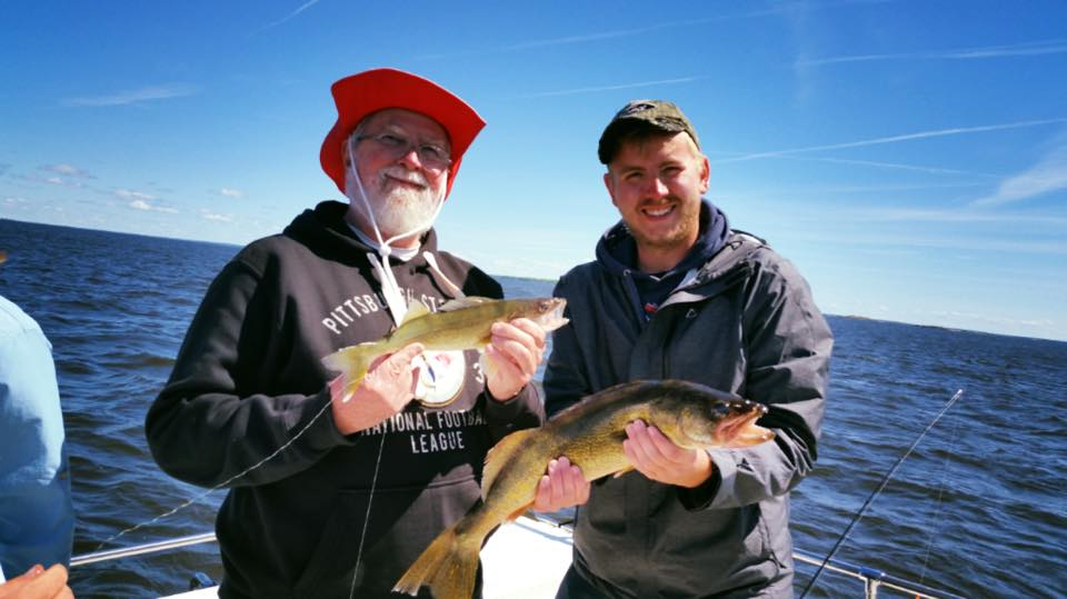 Great fishing with some great people this week and it's only Wednesday!!! With the first 30 inch walleye of the year be caught with a great couple today! - Charter fishing out of Sunset Lodge with guide, Jeremy Glessing  (69).jpg
