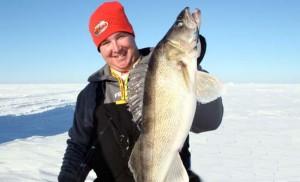 Ice Fishing Walleyes
