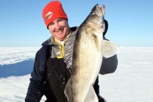 Ice Fishing Walleyes –  Good Morning; Good Night
