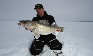 Go long for Early Ice Fishing Walleye – By Jason Mitchell