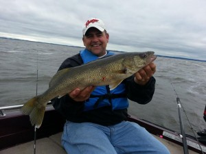 Erie Walleyes Angler Take Notice of Perfect 10