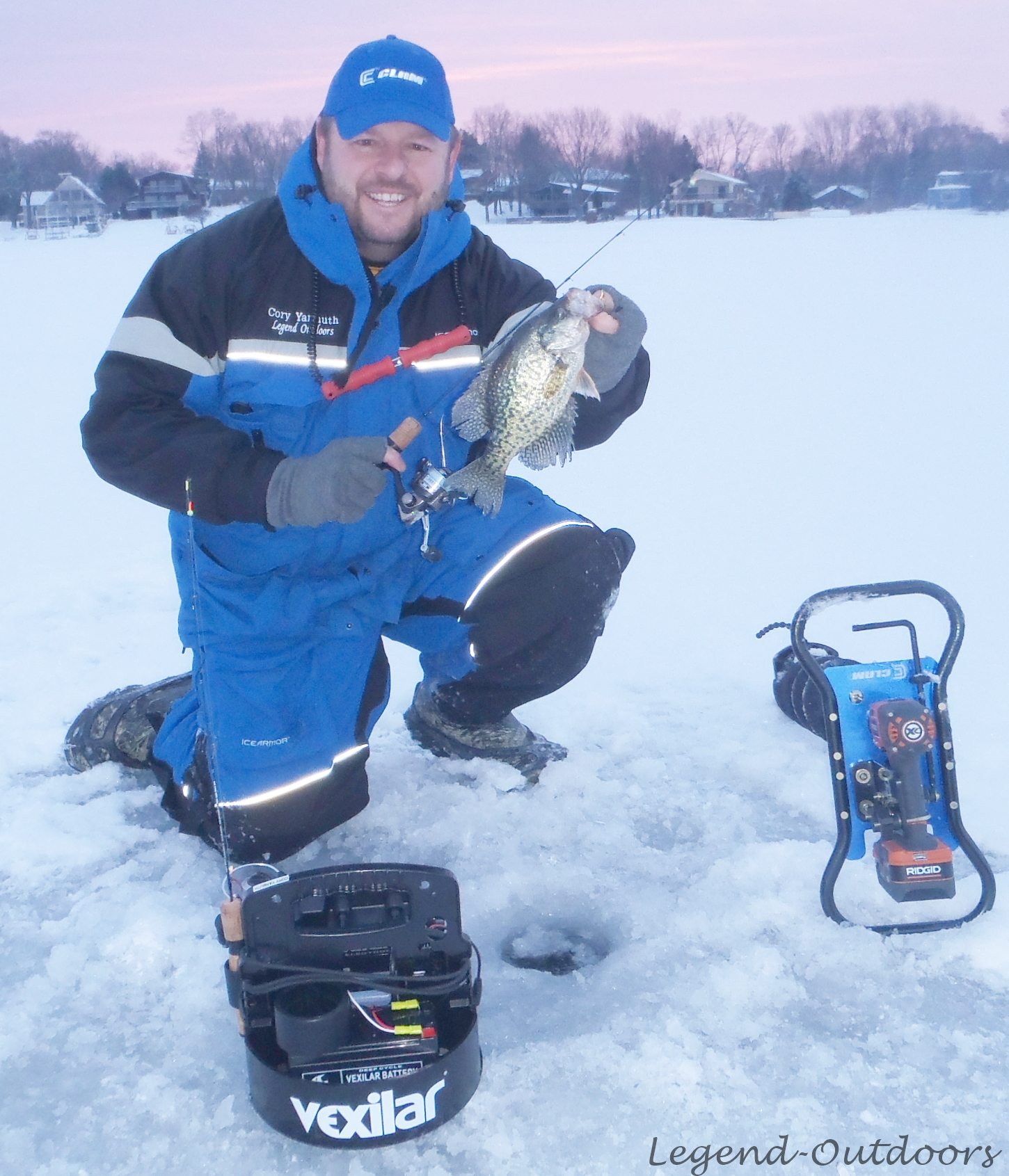 Mobility On the Ice, The Way To Stay On Fish