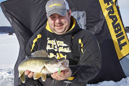 early ice fishing walleyes safety