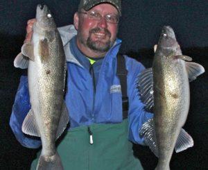 Walleyes on the Rim – Early Season Walleye Ice Fishing