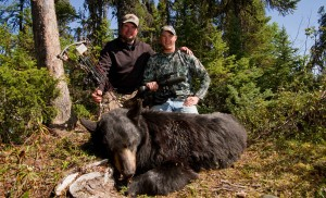 Spring Canadian Bear Hunting; an incredible cast and blast adventure