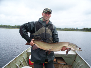 Top U.P. muskie fishing